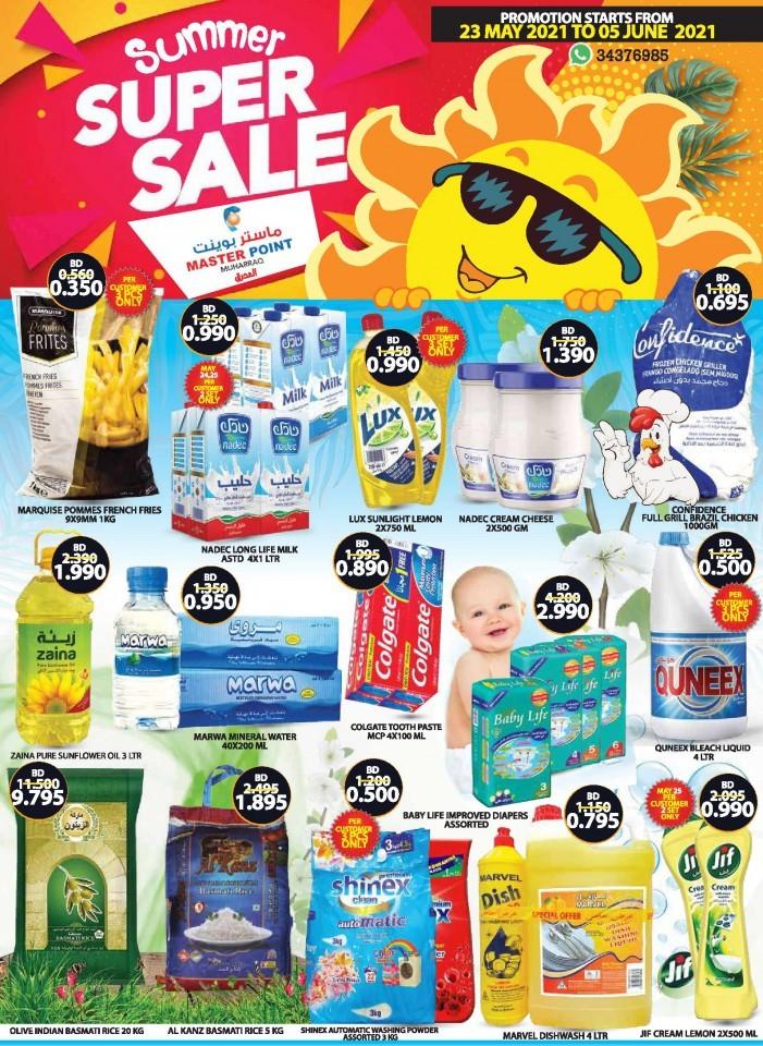 Master Point Summer Sale