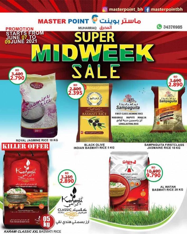 Master Point Midweek Sale