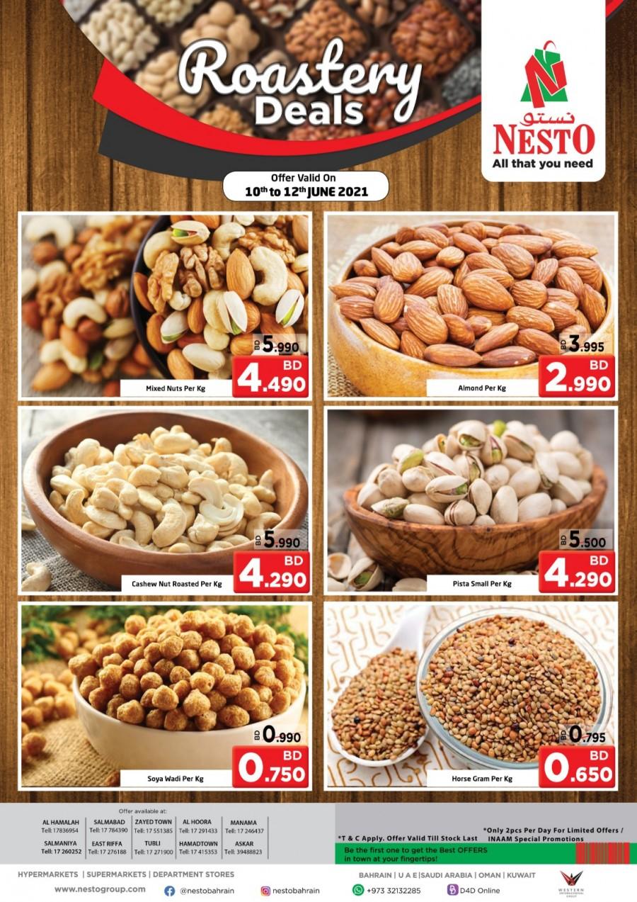 Nesto Weekend Roastery Offers