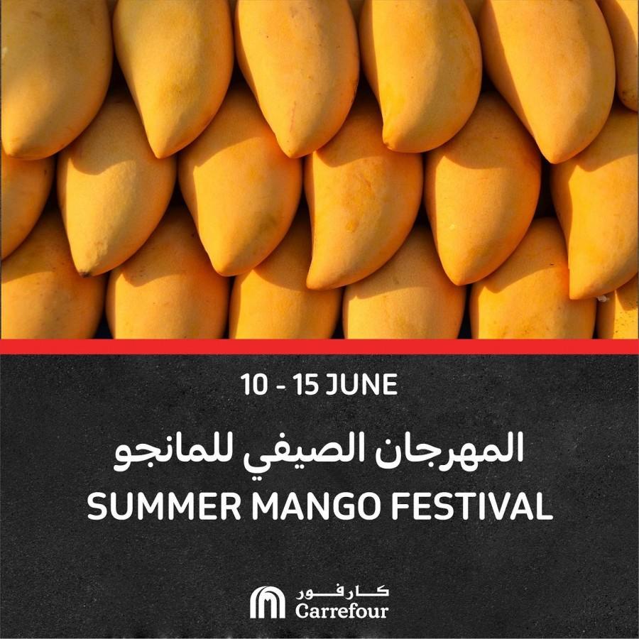 Carrefour Hypermarket Mango Festival