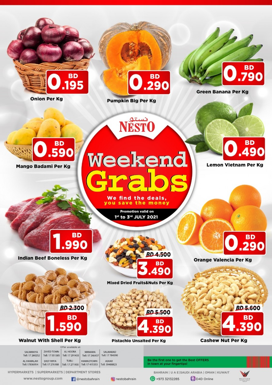 Nesto Hypermarket Weekend Grabs