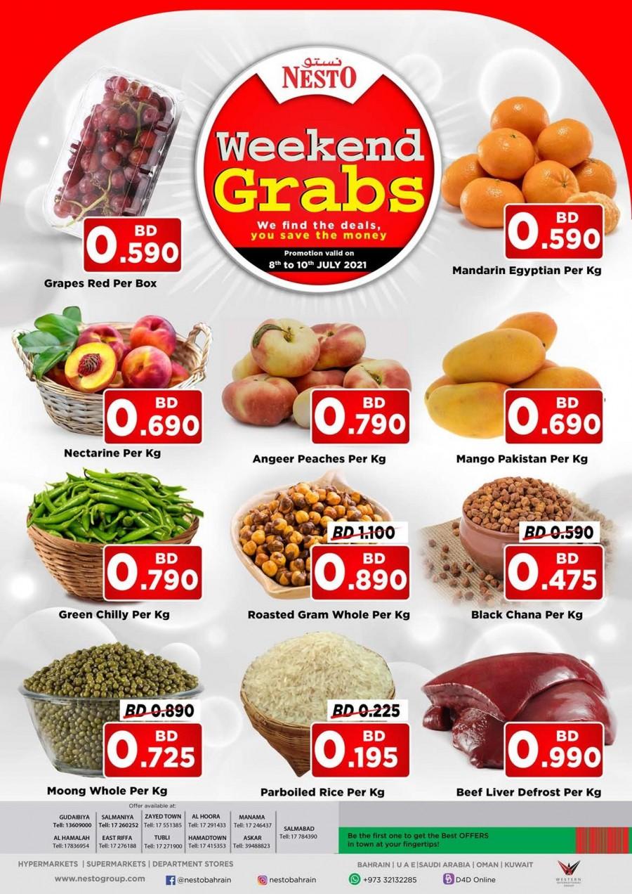 Nesto Best Weekend Grabs
