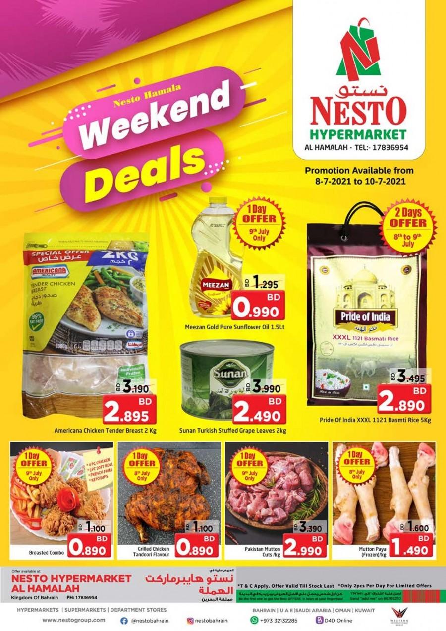 Nesto Al Hamalah Weekend Deals