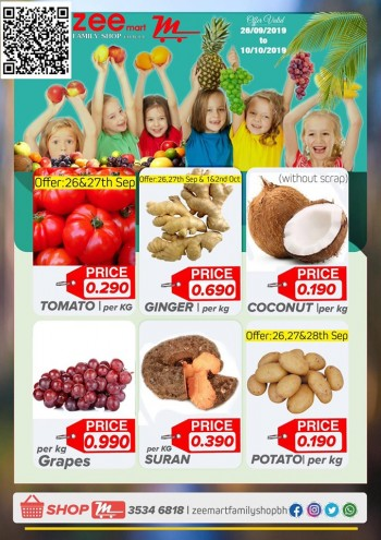 Zeemart Family Shop Month End Offers