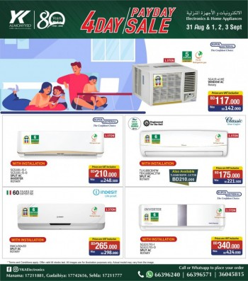 YK Almoayyed Electronics 4 Day Offers