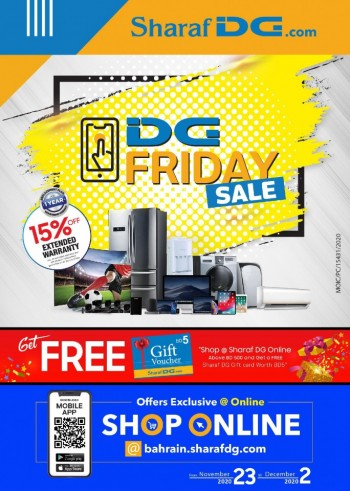 Sharaf DG Friday Sale Offers