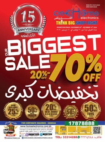 Home Electronics Biggest Sale