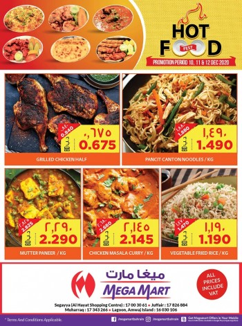 Mega Mart Hot Food Fest Deals