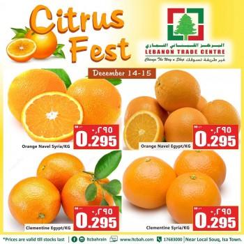 Lebanon Trade Centre Citrus Fest