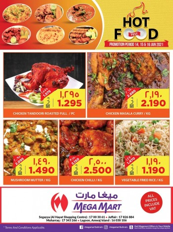 Mega Mart Hot Food Deals