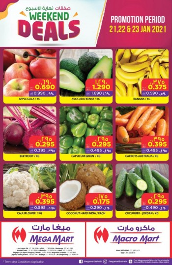 Mega Mart Best Weekend Offers