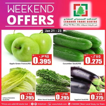 Lebanon Trade Centre Weekend Offers