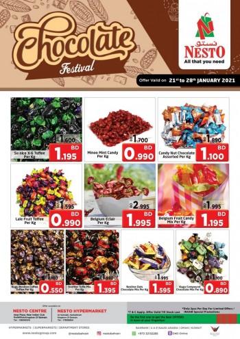 Nesto Hypermarket Chocolate Festival