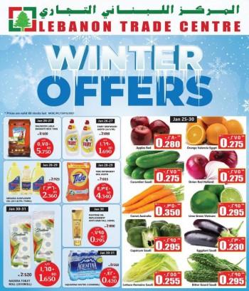 Lebanon Trade Centre Winter Offers