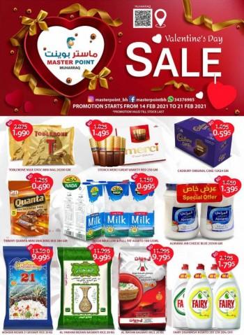 Master Point Valentines Day Sale