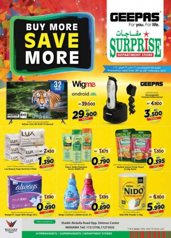 Surprise Department Store Save More