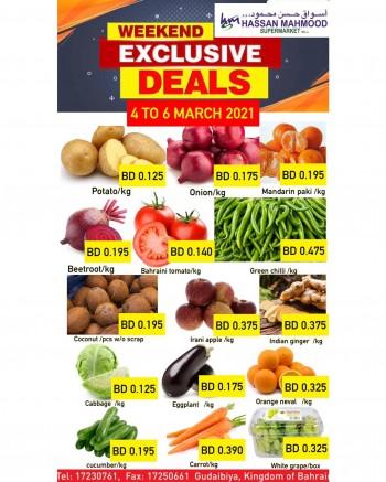 Weekend Exclusive Deals