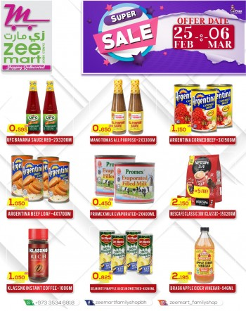 Zeemart Family Shop Super Sale