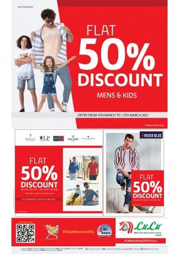 Lulu Flat 50% Discount