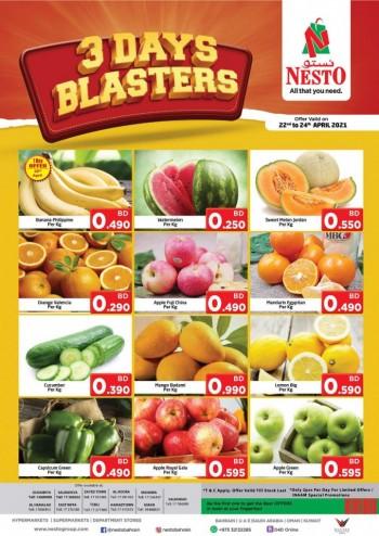 Nesto Three Days Blasters