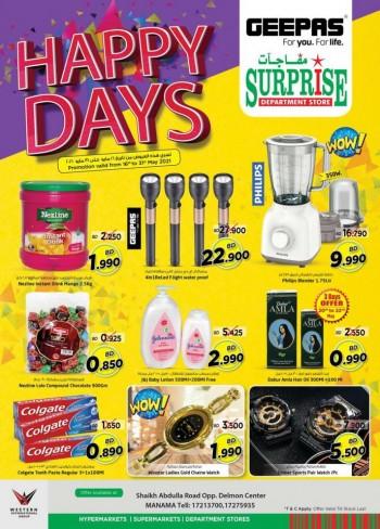 Surprise Department Store Happy Days
