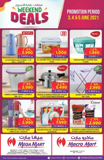 Mega Mart Weekend Best Deals