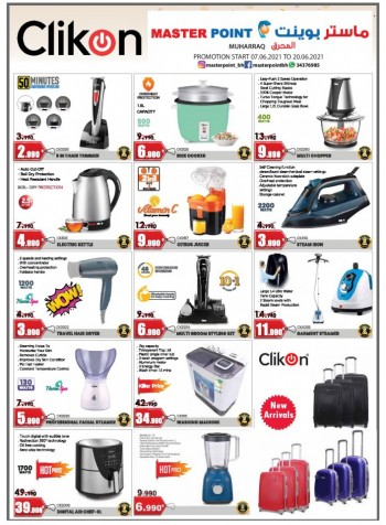 Master Point Special Offers