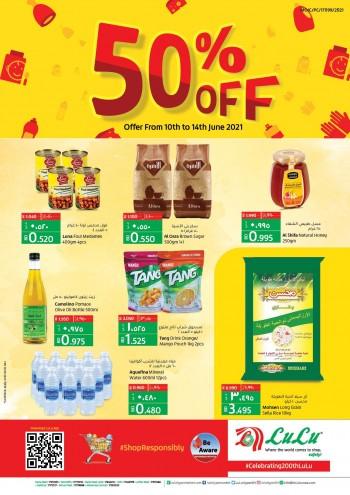 Lulu Hypermarket 50% Off