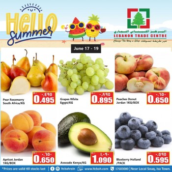 Hello Summer Deals