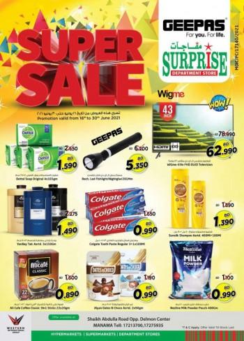 Surprise Department Store Super Sale
