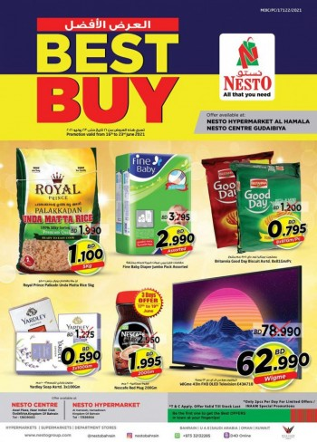 Nesto Best Buy Promotion