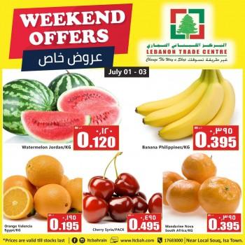 Lebanon Trade Centre Weekend Deals
