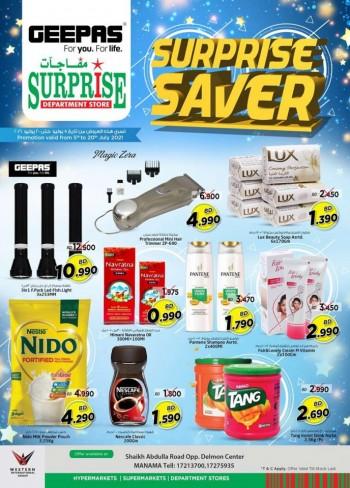 Surprise Saver Deals