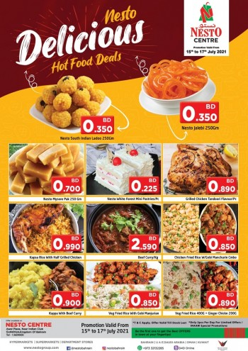 Nesto Centre Delicious Deals