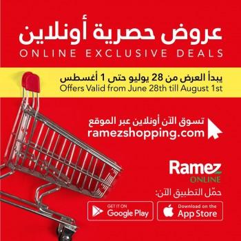 Ramez Online Exclusive Deals