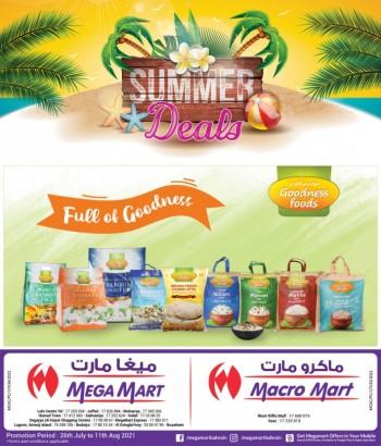Mega Mart Summer Deals