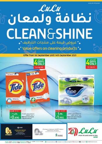 Lulu Clean & Shine Promotion
