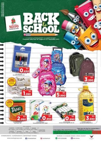 Nesto Hypermarket Back To School