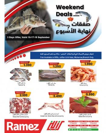 Ramez Weekend Fresh Deals