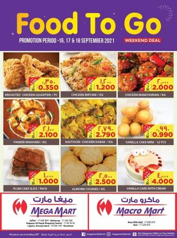 Mega Mart Food To Go Best Deal