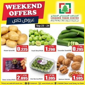 Lebanon Trade Centre Weekend Savers