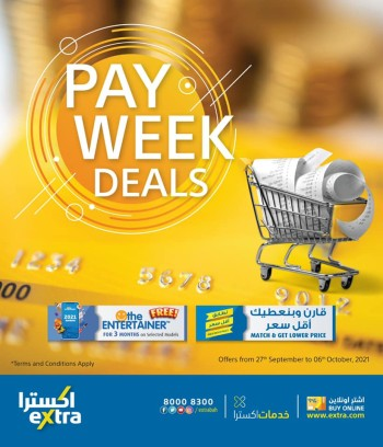 Extra Stores Pay Week Deals