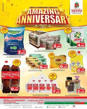 Nesto Al Hamalah Anniversary Offers